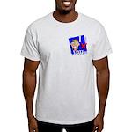I Vote Ash Grey T-Shirt