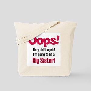 Oops Big Sister Tote Bag
