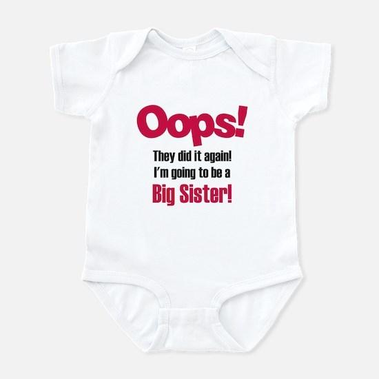 Oops Big Sister Infant Bodysuit