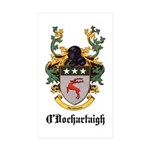 O'Dochartaigh Coat of Arms Rectangle Sticker 50 p