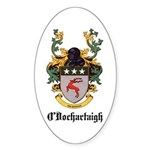 O'Dochartaigh Coat of Arms Oval Sticker (10 pk)