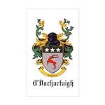 O'Dochartaigh Coat of Arms Rectangle Sticker