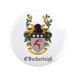 """O'Dochartaigh Coat of Arms 3.5"""" Button"""