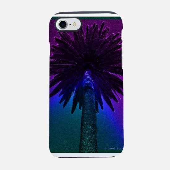 Neon Palm Tree iPhone 7 Tough Case