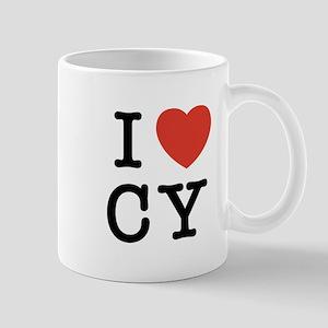 I Heart CY Mug