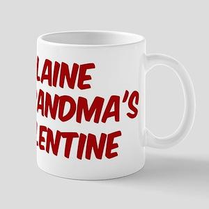 Blaines is grandmas valentine Mug