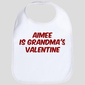 Aimees is grandmas valentine Bib