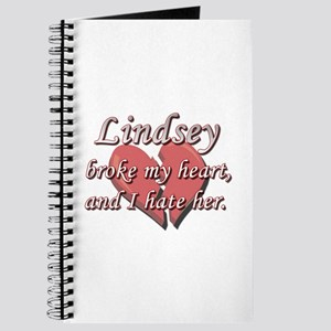 Lindsey broke my heart and I hate her Journal