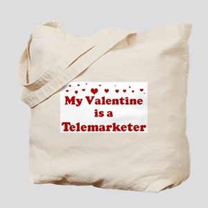 Valentine: Telemarketer Tote Bag