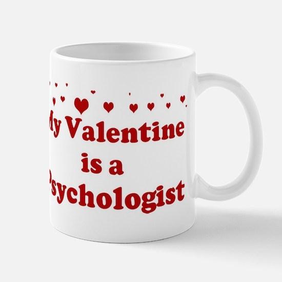 Valentine: Psychologist Mug