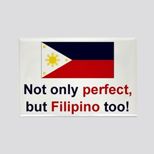 Perfect Filipino Rectangle Magnet