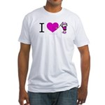 I heart Nancy Boys Fitted T-Shirt