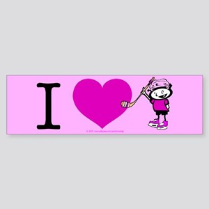 I heart Nancy Boys Bumper Sticker