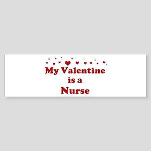 Valentine: Nurse Bumper Sticker