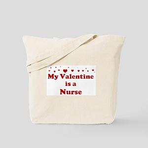 Valentine: Nurse Tote Bag