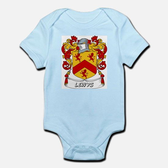 Lewys Coat of Arms Infant Creeper