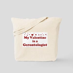Valentine: Gerontologist Tote Bag