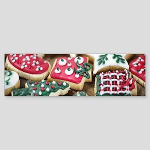 Christmas Cookies Bumper Sticker