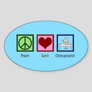 Cute Chiropractor Sticker (Oval)