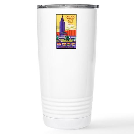 Chicago Stainless Steel Travel Mug