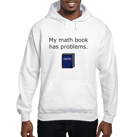 Math Book Hooded Sweatshirt