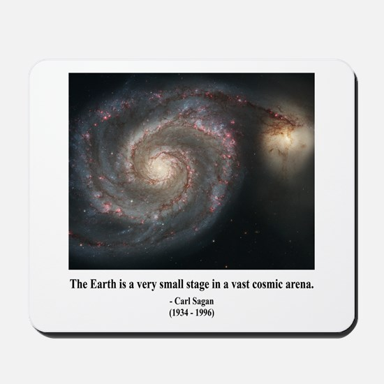 Carl Sagan A Mousepad