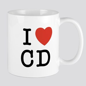 I Heart CD Mug