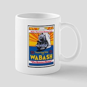 Wabash Train Mug
