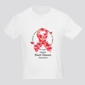 HD Butterfly Ribbon Kids Light T-Shirt