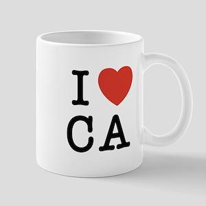 I Heart CA Mug