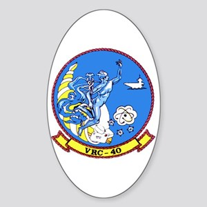 VRC-40 Rawhides Oval Sticker