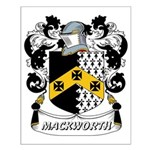 Mackworth Coat of Arms Small Poster