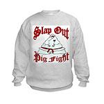 Martial Arts: Slap Out Kids Sweatshirt
