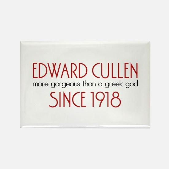 Edward - Greek God Since 1918 Rectangle Magnet
