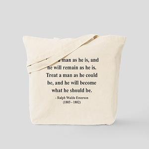 Ralph Waldo Emerson 16 Tote Bag
