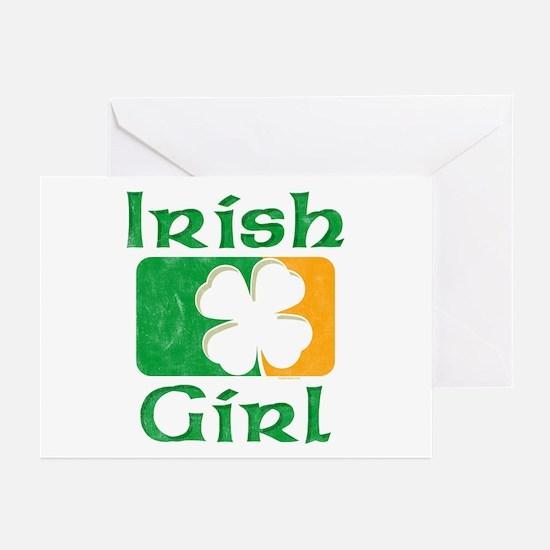 Irish Girl Greeting Cards (Pk of 10)
