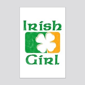 Irish Girl Mini Poster Print