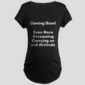 Bitch gift Maternity Dark T-Shirt