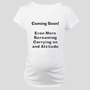 Bitch gift Maternity T-Shirt
