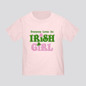 Loves An Irish Girl Toddler T-Shirt
