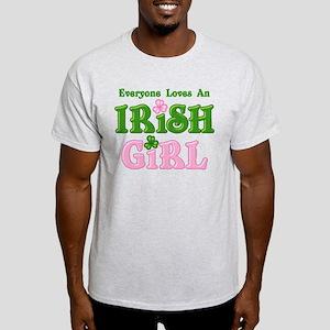 Loves An Irish Girl Light T-Shirt
