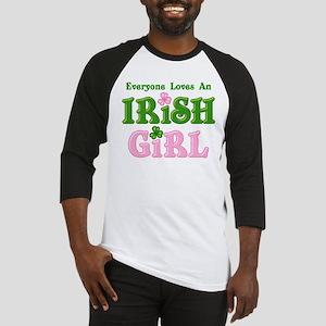 Loves An Irish Girl Baseball Jersey