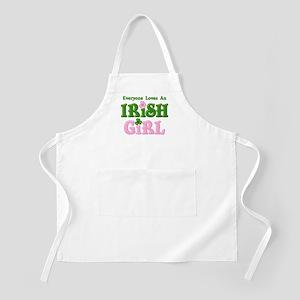Loves An Irish Girl BBQ Apron
