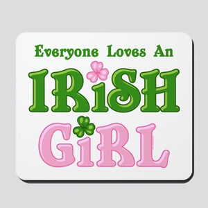 Loves An Irish Girl Mousepad