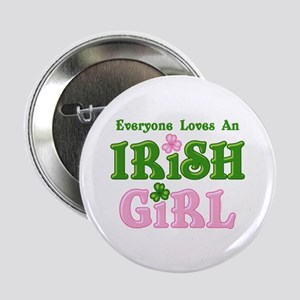 "Loves An Irish Girl 2.25"" Button"