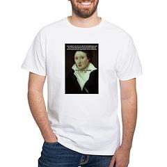 Romantic Writer: Percy Shelley White T-Shirt