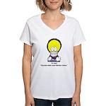 Dr. Markov Chain Women's V-Neck T-Shirt