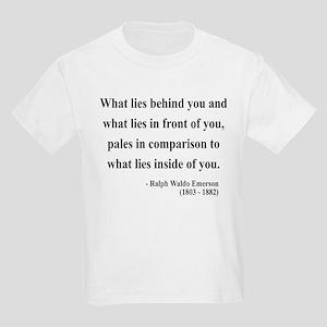 Ralph Waldo Emerson 11 Kids Light T-Shirt