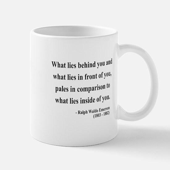 Ralph Waldo Emerson 11 Mug