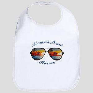 Florida - Madeira Beach Baby Bib